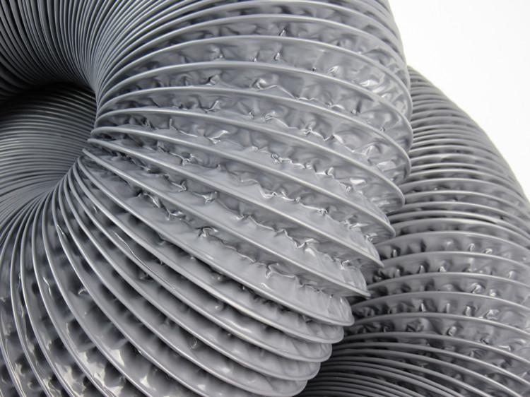 油煙鋁箔伸縮軟管 換氣扇管排風管 新風通風管 復合管 PVC 三層加厚