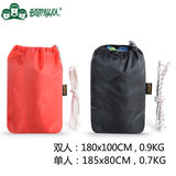 Dunbar column double thick canvas hammock outdoor camping indoor leisure swing to send tied rope storage bag