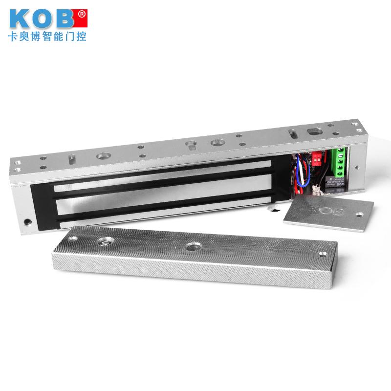 KOB280kg电子磁力锁门禁锁电控锁延时磁力锁防水锁信号反馈电磁锁