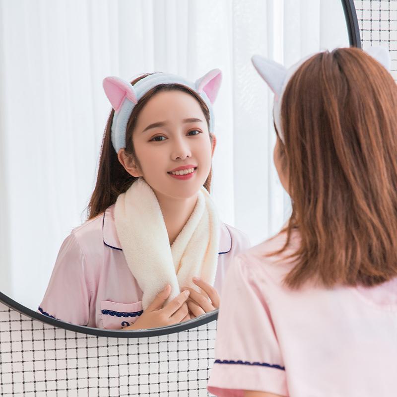 韩国洗脸发带可爱简约网红敷面膜束发带发箍女发捆头饰头箍漱化妆