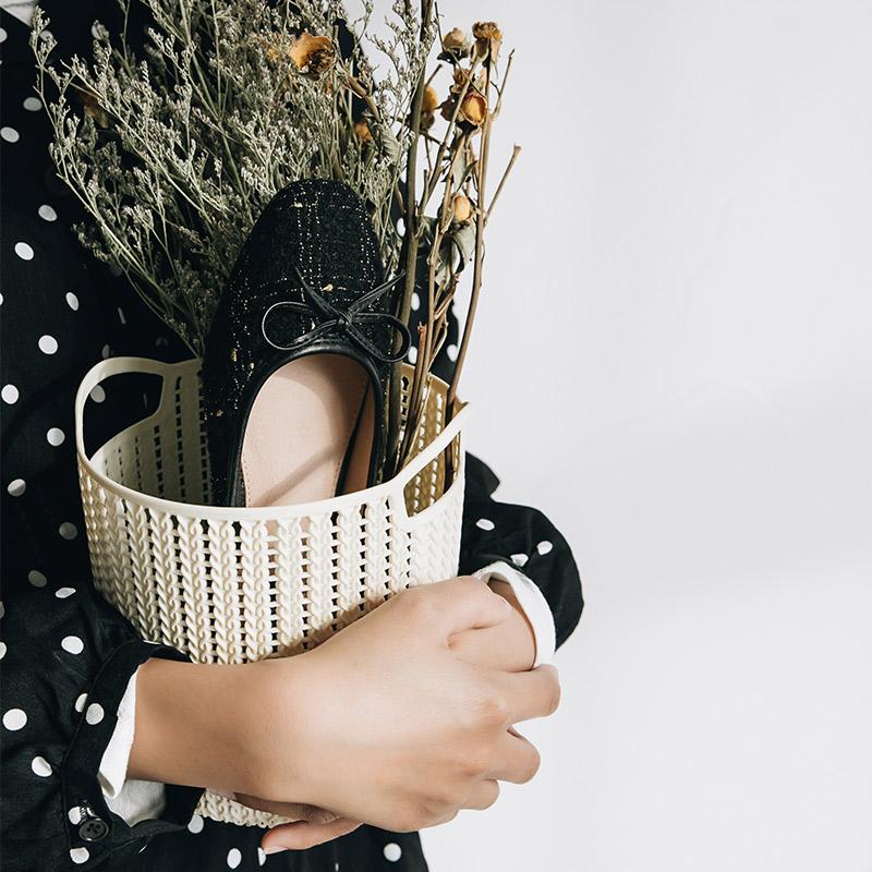 秋季新款仙女风单鞋女复古中跟百搭浅口粗跟温柔奶奶鞋女 2019 妙侣