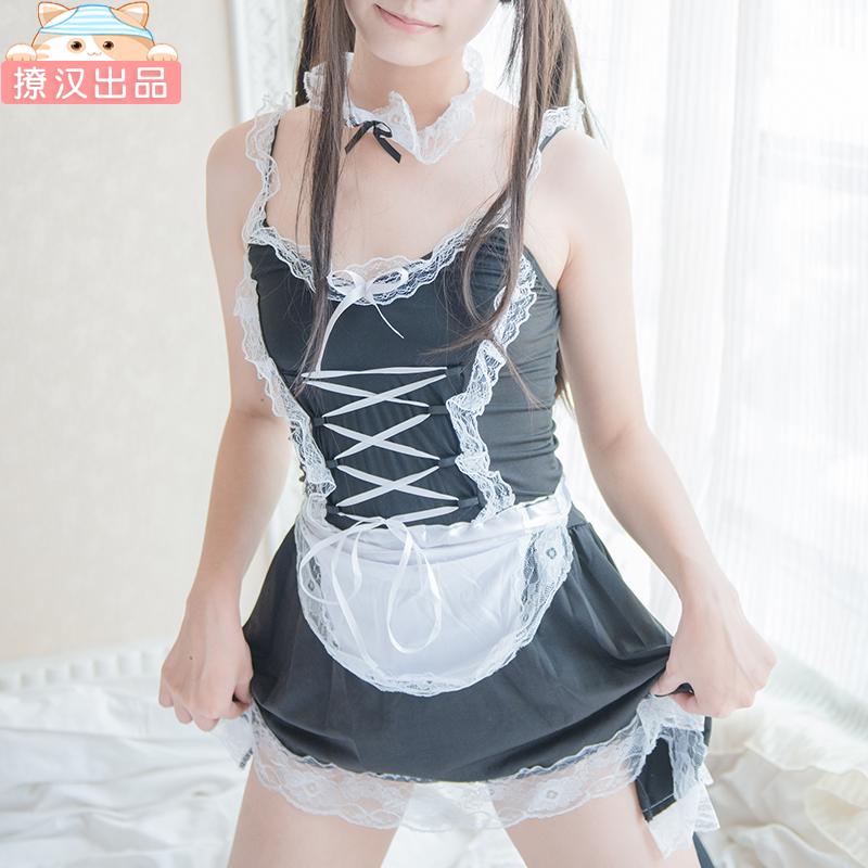 【撩汉出品】女仆装女仆装短裙少女内衣性感蕾丝围裙女佣制服