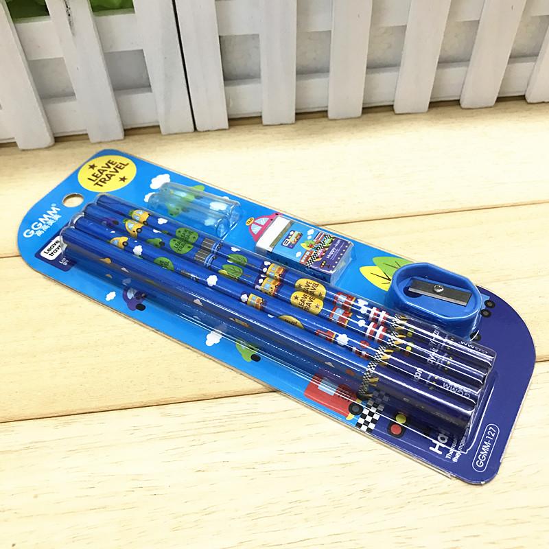 儿童可爱韩版文具 小学生铅笔套装文具套装 开学文具礼品学习用品