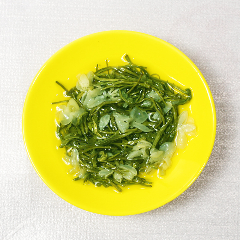 500g 年散装蒙顶山茶特级新茶其它绿茶浓香型飘雪茶叶 2020 茉莉花茶
