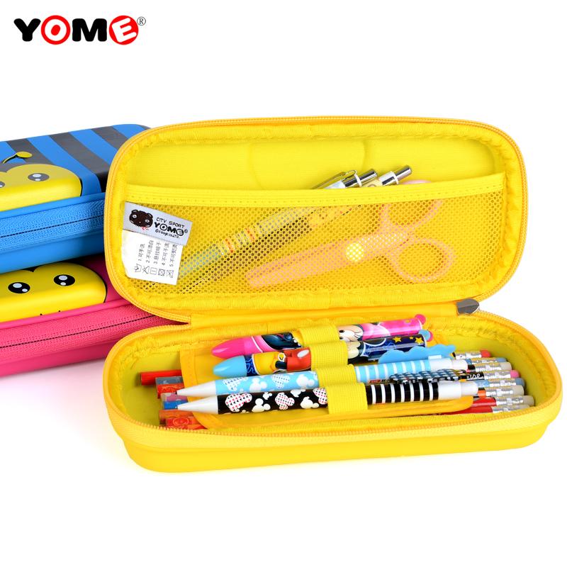 文具盒男童女小学生防撞铅笔盒可爱大容量韩国创意铅笔袋儿童笔盒
