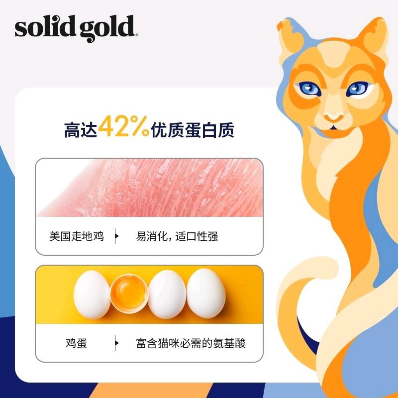 金装素力高猫粮试吃SolidGold金丽高猫粮12磅金装素力高猫粮3磅优惠券