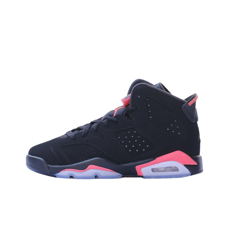 樱木花道篮球鞋是哪款,乔丹6代白红配色和乔丹1代黑红配色