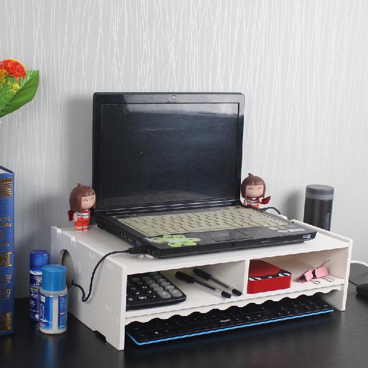液晶电脑显示器增高架显示屏笔记本电脑双层办公桌面托架底座支架