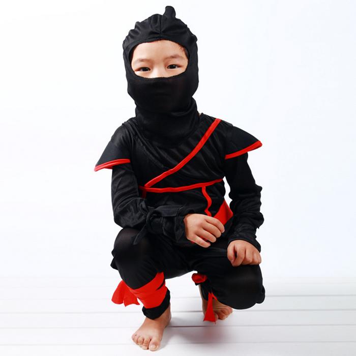 儿童节cosplay服装 男女 儿童化妆舞会武术忍者装 火影忍者演出服