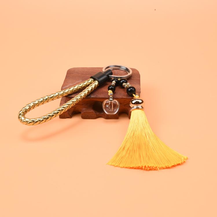 汽车钥匙创意挂件 新生儿童胎发纪念品 宝宝胎毛吊坠diy车挂礼物