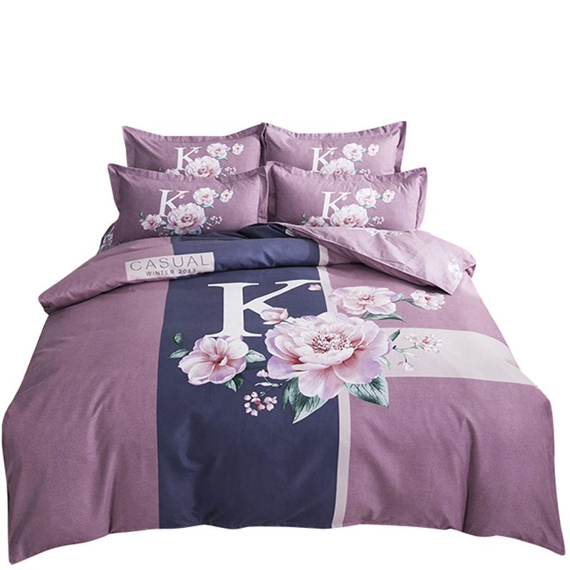 双人床单被套秋冬季床上四件套 1.8m2.0m 特价四件套全棉纯棉网红款