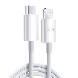 zmi紫米pd快充线iphone11pro max苹果x手机充电线器mfi认证typec转lighting数据线通用iphonex闪充18w套装