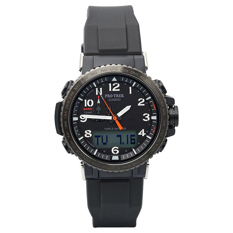 太阳能电波登山男表 2A 50YFE 1A 50Y PRW PROTREK 卡西欧手表