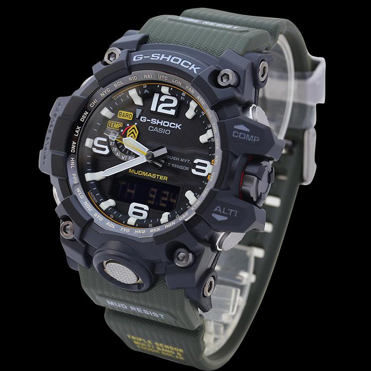 电波男表泥王 GB 1A3PR 1A 1A3 1000 GWG 日本原装 卡西欧手表
