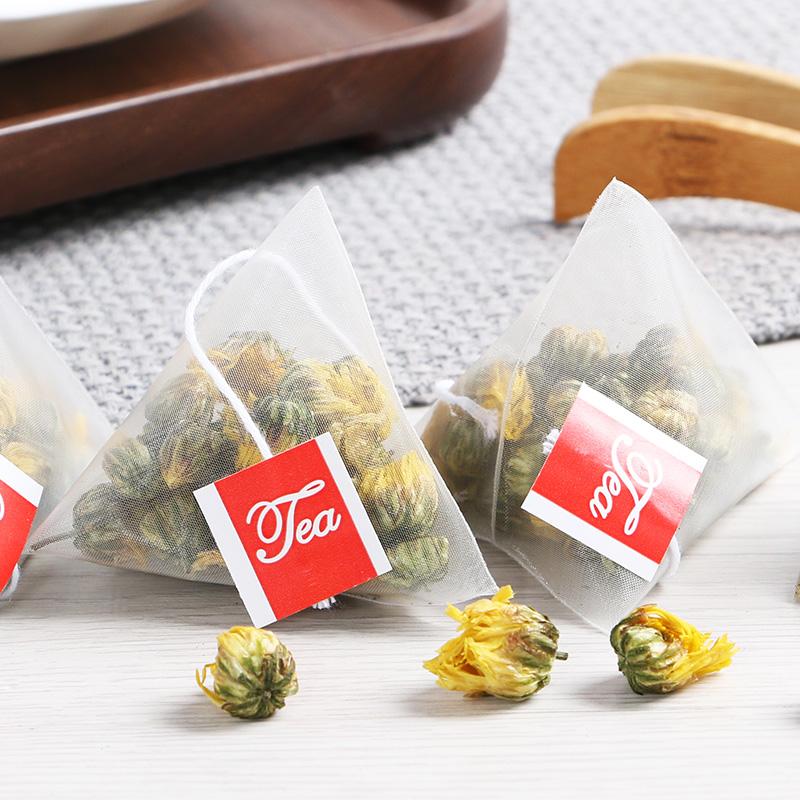 菊花花草茶花茶叶白菊小袋茶包 包胎菊三角袋泡茶 40 共 1 送 1 买