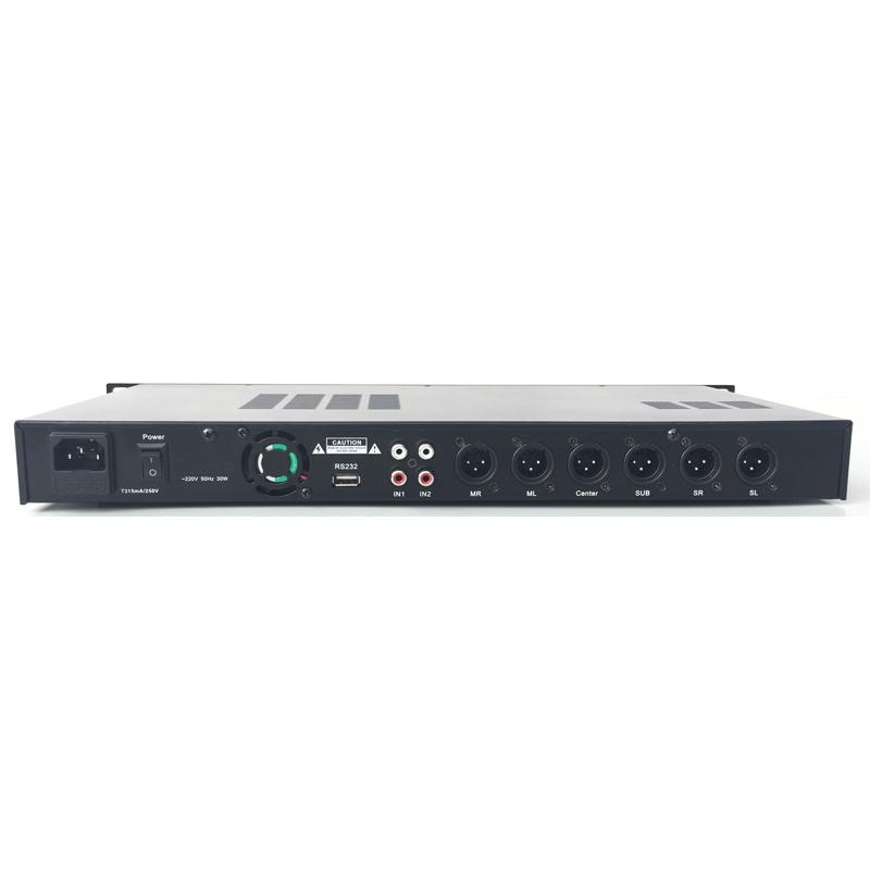 X5前级效果器KTV数字混响器卡拉OK专业防啸叫器DSP前置音频处理器