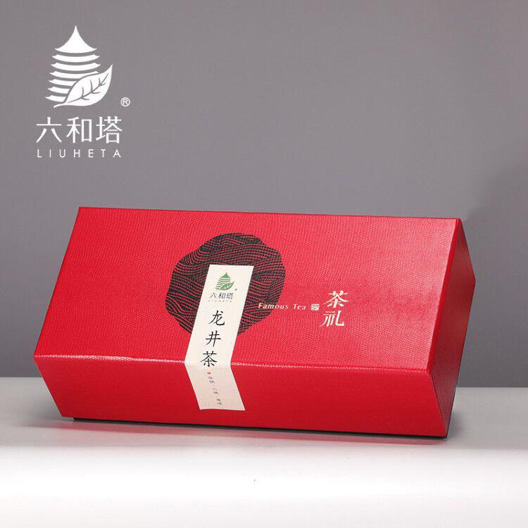 龙井2020新茶六和塔明前特级茶叶礼盒装200g高档送礼春茶西湖绿茶主图