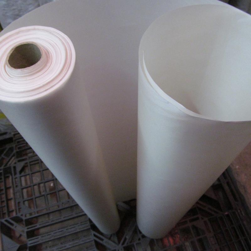 铁氟龙高温布封口机耐高温隔热布制袋机热切绝缘烫布1米宽0.14mm