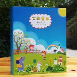 Students grow record book file a4 loose-leaf album of this nursery children's album template grow manual