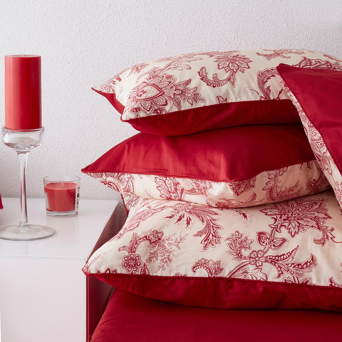 婚庆四件套大红全棉纯棉贡缎婚床床笠结婚四件套新婚床上用品喜被