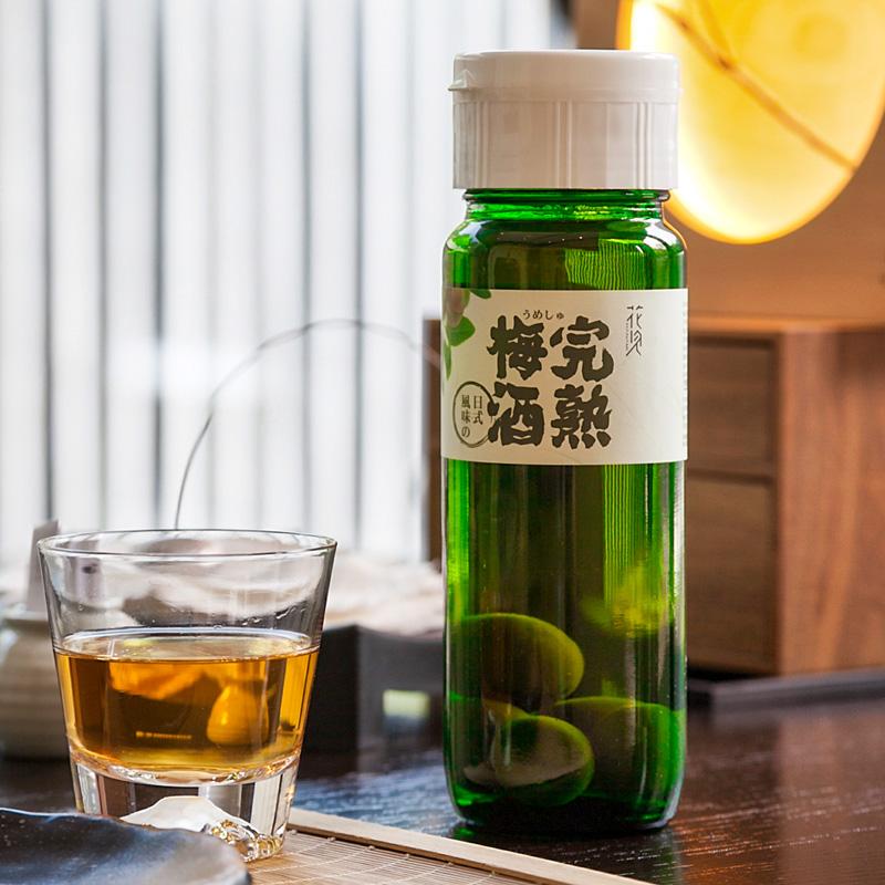 含真实梅子日式工艺果酒女士酒 瓶装 720mlx4 完熟青梅酒 日式梅酒
