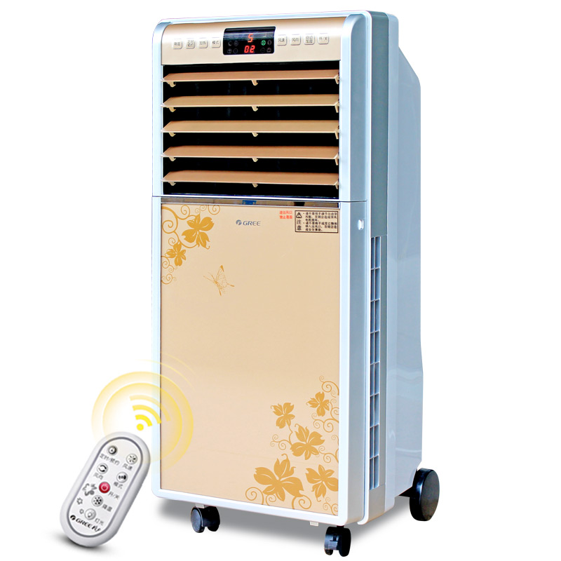 格力冷暖两用空调扇冷风机 家用宿舍移动冷风扇小型空调带遥控