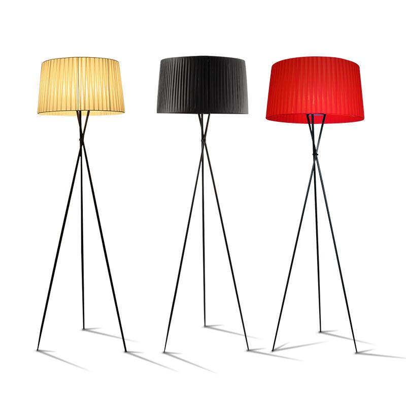 宜家落地台灯 ins 北欧落地灯客厅沙发茶几简约现代卧室书房站立式