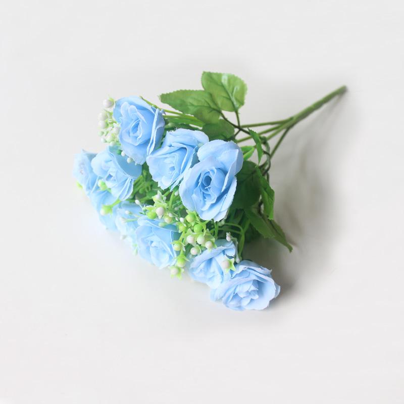 仿真花束向日葵清新玫瑰餐桌假花摆件装饰北欧菊花插花绢花塑料花