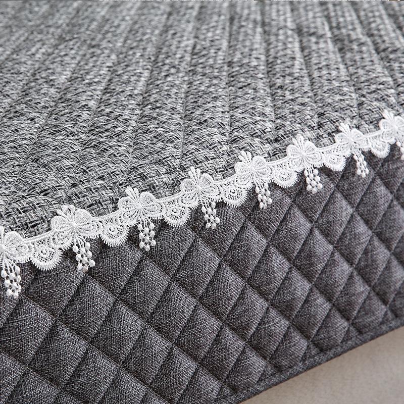 沙发垫四季通用布艺坐垫子靠背巾简约现代沙发套全包萬能套罩全盖