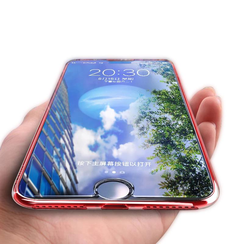苹果8钢化膜iPhone7Plus手机贴膜抗蓝光7P高清晰8plus玻璃七P水凝八p护眼七屏幕保护mo透明非全屏半包膜