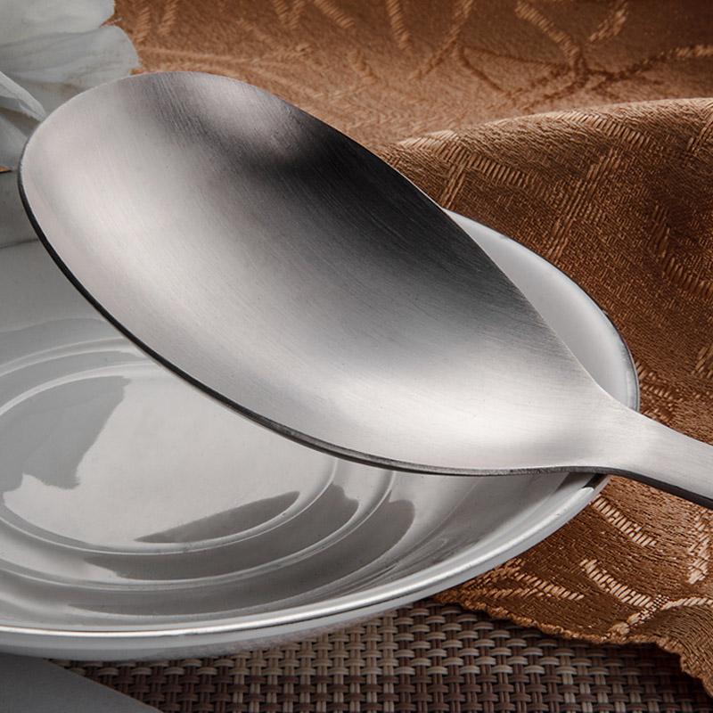 欧式饭铲不锈钢饭勺餐具不粘勺子汤匙餐勺分菜勺饭羹调羹厨具特价