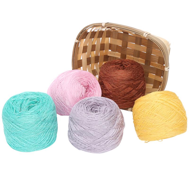 意大利亚麻线 钩针线 夏季新款细毛线 diy手工编织毛线清仓特价