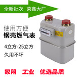 Zhejiang Rongxin gas meter large full-size commercial gas cubic meter full-size kitchen gas meter Hotels