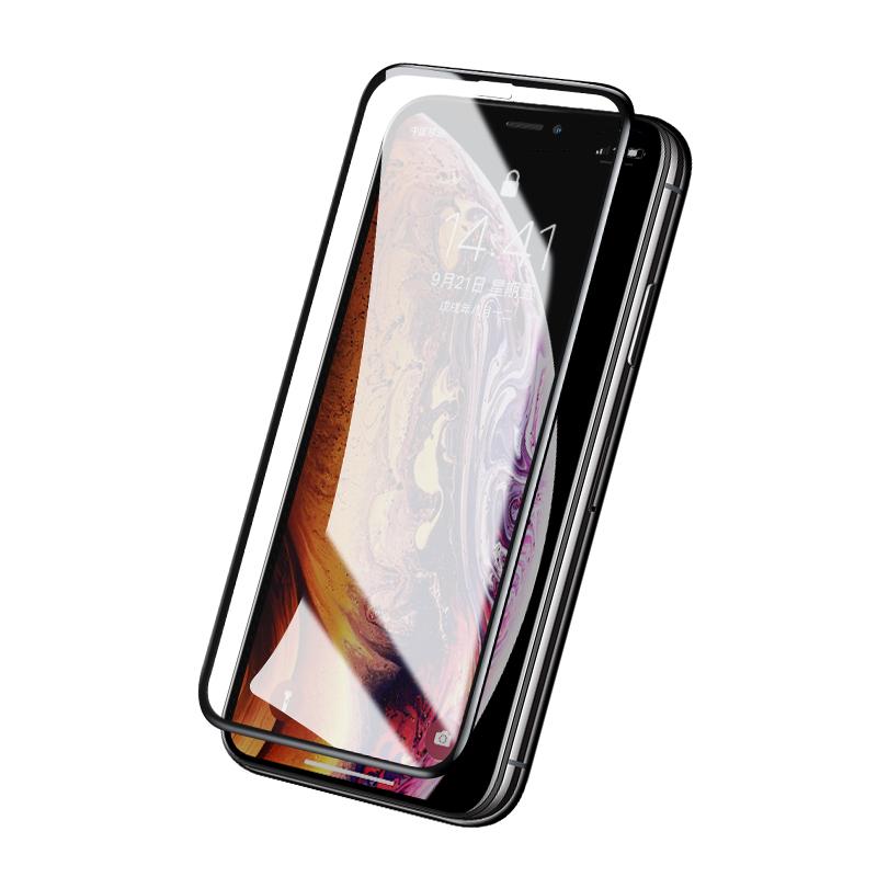 绿联iPhoneX钢化膜Xs苹果X贴膜iPhoneXS Max全屏覆盖包边防窥抗蓝光xs max苹果xr通用玻璃磨砂iPhonexr手机膜