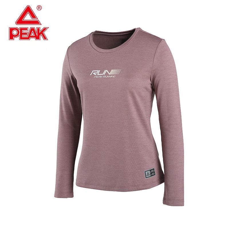 Peak/匹克卫衣女2020春季新款潮流休闲圆领运动服短款长袖套头衫