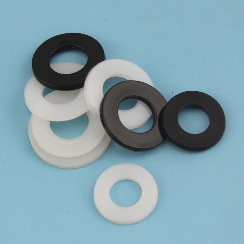 尼龙垫片 塑料平垫 塑胶垫圈 高温绝缘垫M2 2.5 3 4 5 6 8 10 12