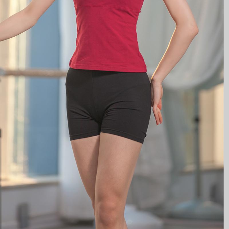 雲逸舞蹈用品 練功打底防走光男女緊身芭蕾運動短褲 球迷健身體操