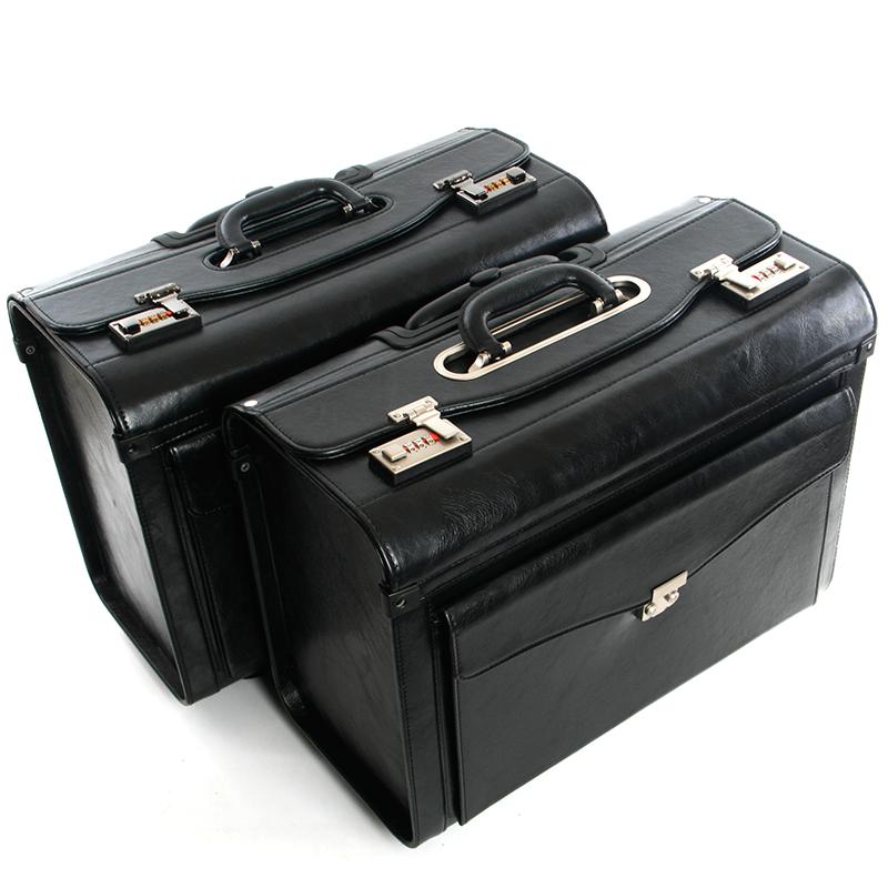 空姐拉桿箱16/19寸商務皮箱男機長飛行航空專用箱行李箱登機箱女