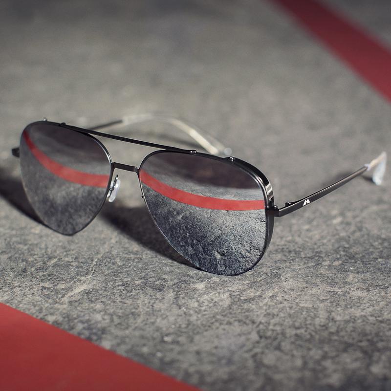 杨颖代言陌森墨镜男蛤蟆眼镜太阳镜潮人偏光镜驾驶眼睛开车司机潮MS8008