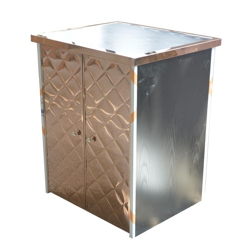 ktv点歌柜子不锈钢玫瑰金酒吧会所包厢功放量贩式点歌台机柜家用