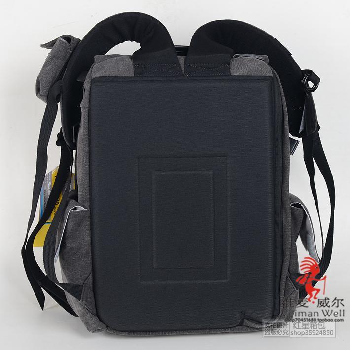 国家地理5070 5072 男女帆布休闲摄影包防盗双肩单反相机电脑背包