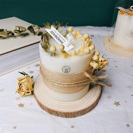 手工肉桂干花新婚香薰蜡烛安神助眠香氛生日伴手情人礼盒闺蜜礼物