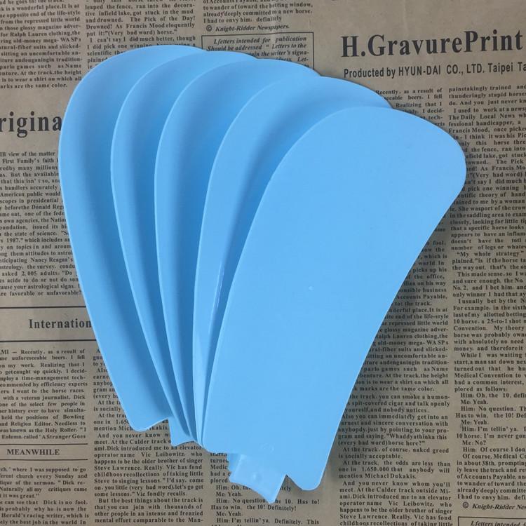 5片装小吊扇台夹扇蓝色页片学生办公小风扇叶片通用插入式叶子
