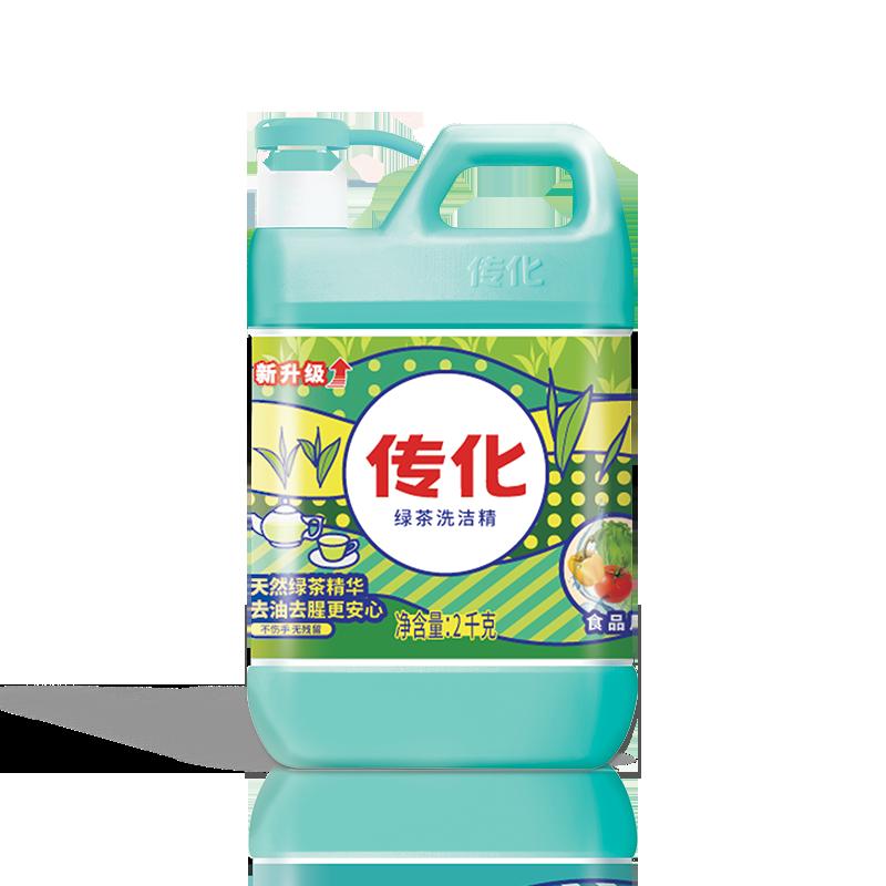 传化 绿茶洗洁精2kg 家庭装