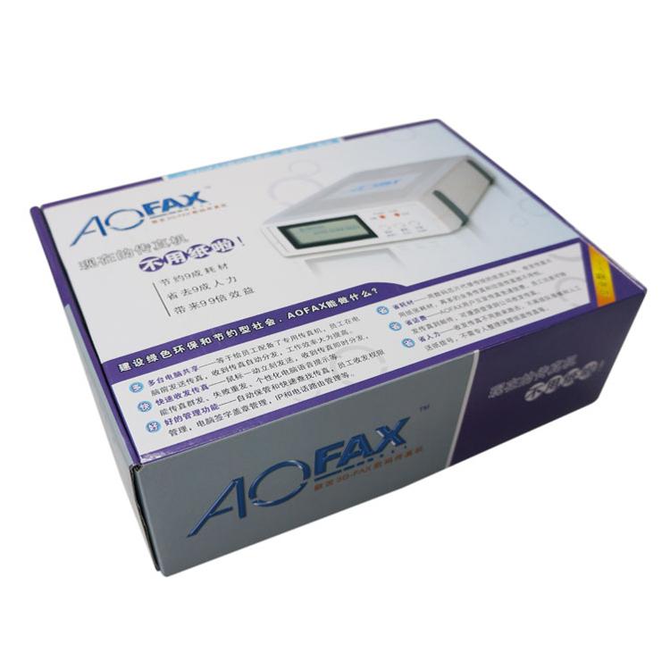金恒傲发AOFAX A60电脑无纸数码传真机企业网络传真服务器3GFAX