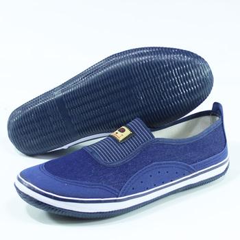 包邮双星防滑橡胶底一脚蹬女帆布鞋