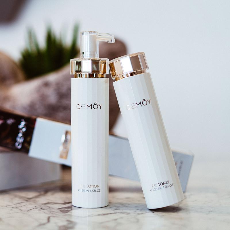 120ml  瓶肌底修护水乳套装 2 CEMOY 白金流明精华乳液护肤护肤品套装