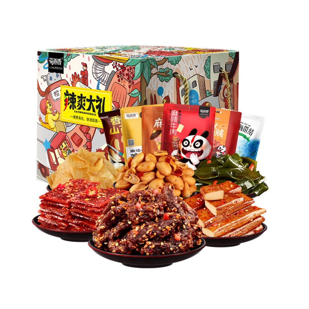 【猫超】蜀道香深夜充饥礼盒743g