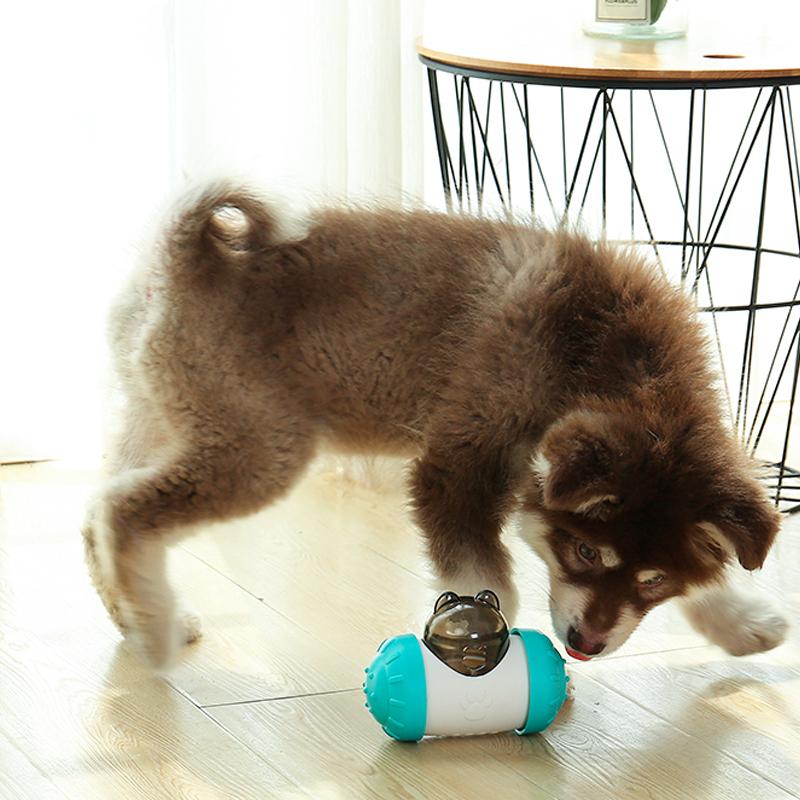 狗狗玩具漏食解闷神器益智不倒翁漏食球零食藏食玩具宠物漏食器
