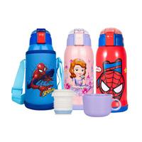 迪士尼保温壶/杯带吸管双盖两用学生儿童便携防摔大容量水杯550ml